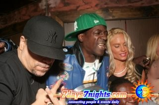 flava flav 47th birthdy party in New York