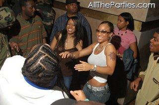 nicole hoops alexander at a nightclub