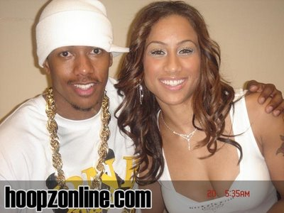 nicole hoopz alexander and nick cannon