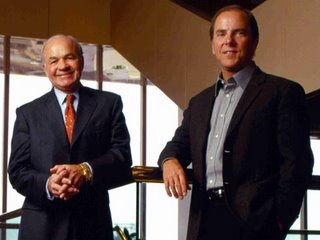Ken Lay & Jeffrey Skilling in the movie ENRON - Smartest Guys in the Room