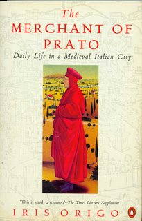 cover of The Merchant of Prato by Iris Origo