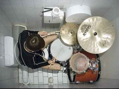 A Drummer in a John