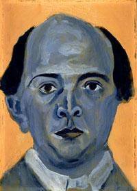 Arnold Schoenberg - self-portrait