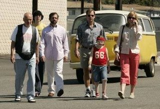 The cast of characters from Little Miss Sunshine.