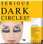 Umm - if you really have THAT dark of circles, then you've got problems.