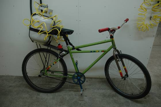 Велосипед на сжатом воздухе