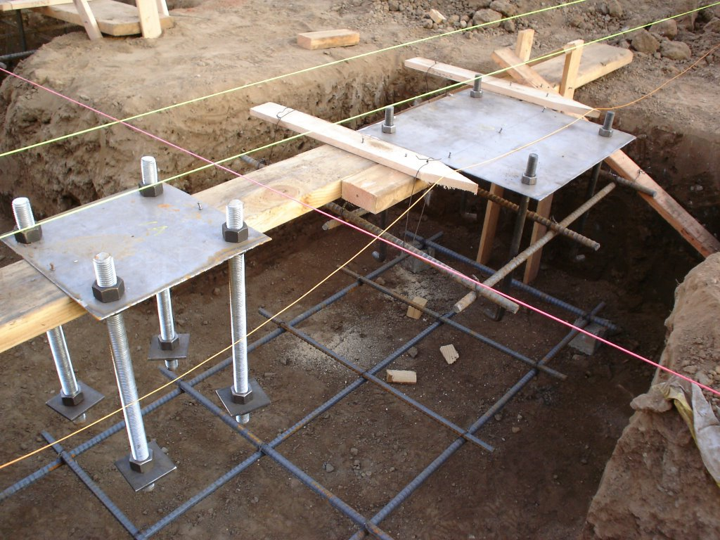Martin luther king park pool rehabilitation project rebar for Concrete pillars for foundation
