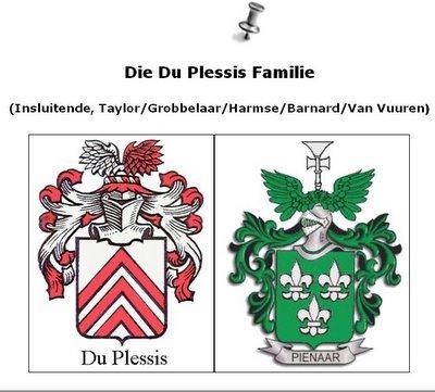 Die Du Plessis deur FGDP 2995/6 in AFRIKAANS