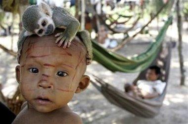 Nukak-Maku monkey