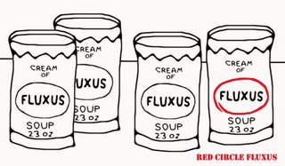Cream of Red Circle Fluxus