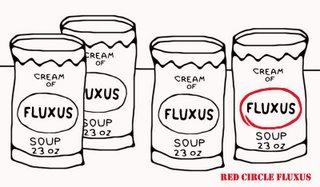 Cream of Red Circle Fluxus