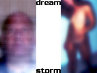 Dream Storm, a fluxus image with text by Allan Revich