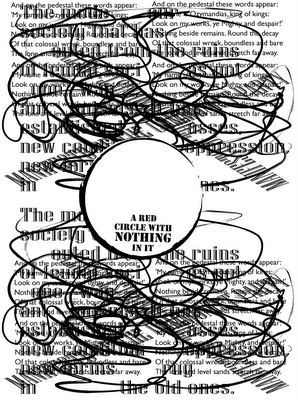 a visual poem by allan revich