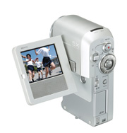 Toshiba's HDD video camera
