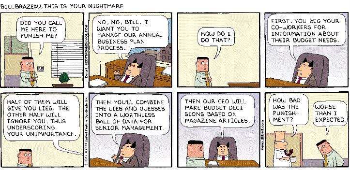 Dilbert Business Plan