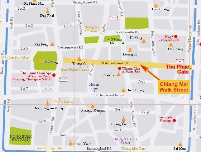Thailand Travel Info Chiang Mai Walk Street
