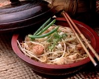Fried Noodles Thai Style
