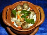 Tom Kha Hed, Thai food