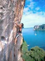 Railay-climbing
