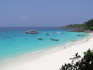 Beach Similan Island Phangnga Thailand