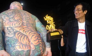Body Tattoo World Tattoo Arts Festival Bangkok Thailand
