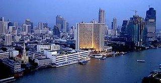 Chaopraya River Bangkok Thailand
