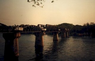 Death Railway Bridge Kanjanaburi Thailand