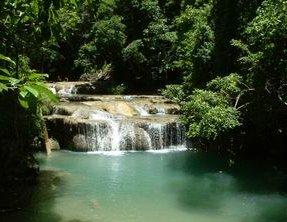 Erawan Waterfall Forest Kanjanaburi