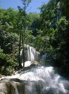 Erawan Waterfall Forest Mountain Kanjanaburi
