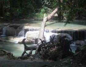 Erawan Waterfall Kanjanaburi