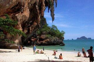 Krabi Cave Beach Thailand