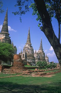 Old City Ayutthaya Thailand