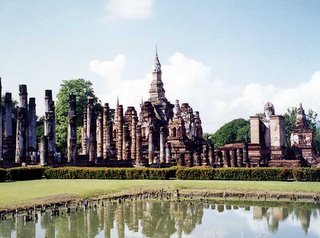 Old City River Sukhothai Thailand