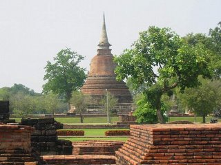 Old City Sukhothai Thailand