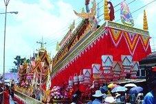 Rocket Festival Parade Thailand