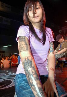 Showing World Tattoo Arts Festival Bangkok Thailand