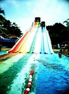 Siam Park Rainbow Pool Bangkok Thailand
