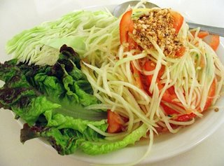 Som Tam is Green Papaya Salad
