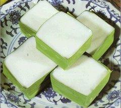 TA-KO is Water Chestnut and Coconut Custard Topping Dessert for Vegan