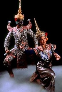 Thai Dancing Flirting Thailand