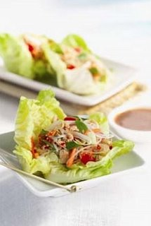 Thai Lettuce Wraps Vegetarian Version