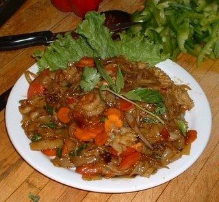 Thai Vegetarian Noodles