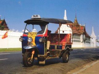 Tuk Tuk Watprakeaw Bangkok Thailand