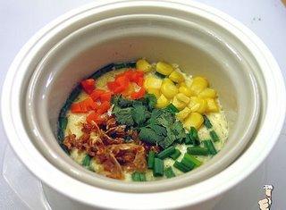 Vegetarian Cup Omelette - Khai Toon Puk