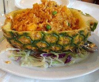 Veggie Thai Pineapple Fried Rice