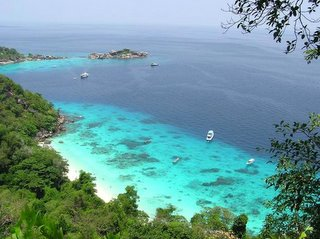 View Of Similan Island Phangnga Thailand