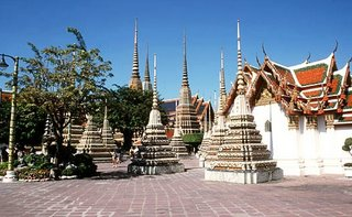 Wat Pho Temple Sight Bangkok Thailand