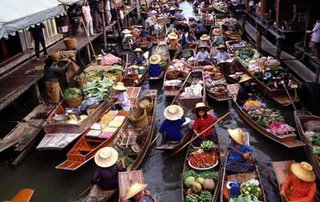 Floating Market River