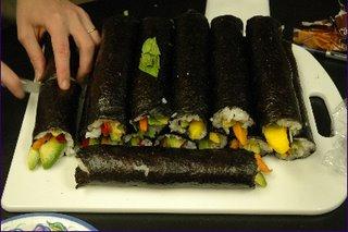 fruit sushi rool