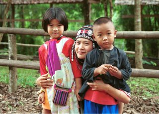 Hilltribe Family Thailand